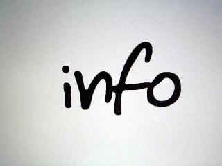 Info (photo by afreeta)