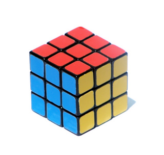 Rubix Cube Solved (photo by MeHere)