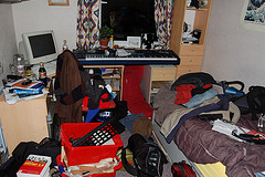 Tidying Room - photo by Andy H McDowall
