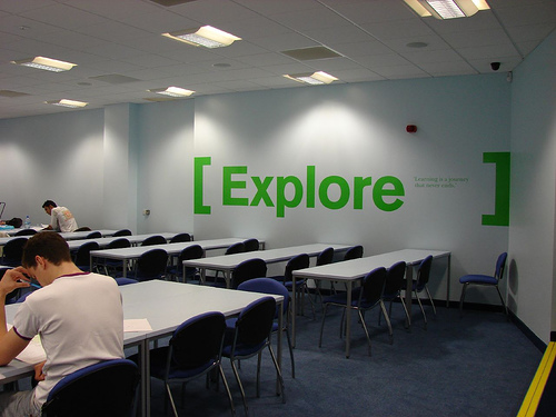 Lecture Room (Birmingham) - photo by jisc_infonet