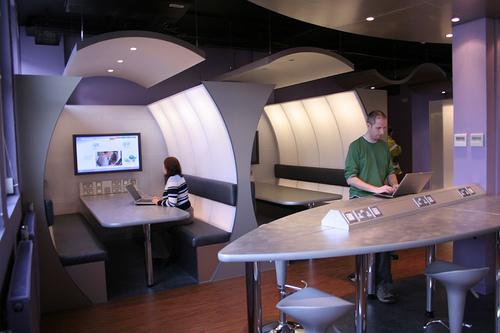 Techno-Cafe - photo by jisc_infonet