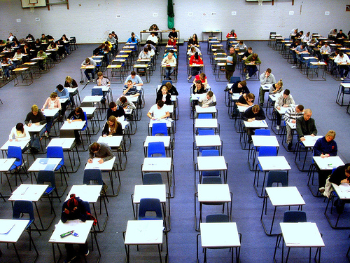Exam Hall - photo by jackhynes