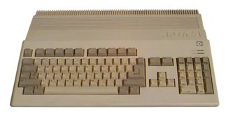 Amiga 500 (photo by Ian Nock)