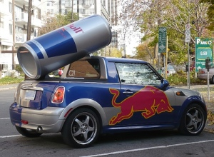 Red Bull Mini (photo by Mikey G Ottawa)