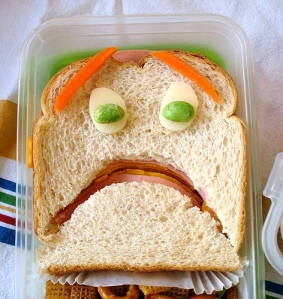 terrified sandwich (photo by Sakurako Kitsa)