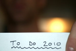 To Do 2010 (photo by Gavin Luhrs)