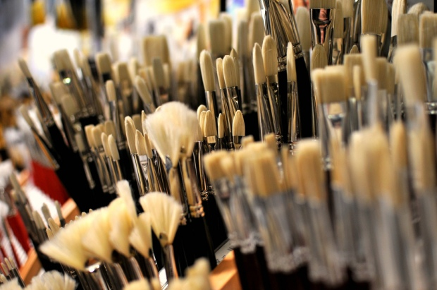 Paintbrushes (photo by Viewminder) CC BY-NC-ND 2.0