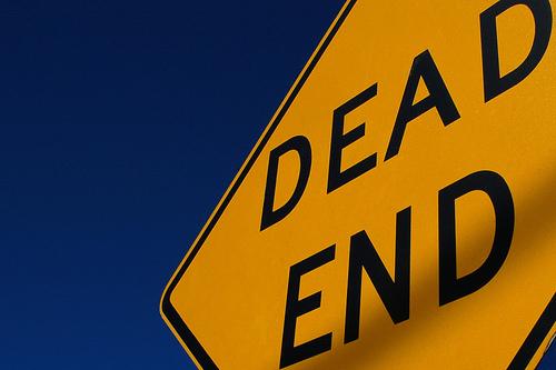 Dead end (photo by Scott Ableman)