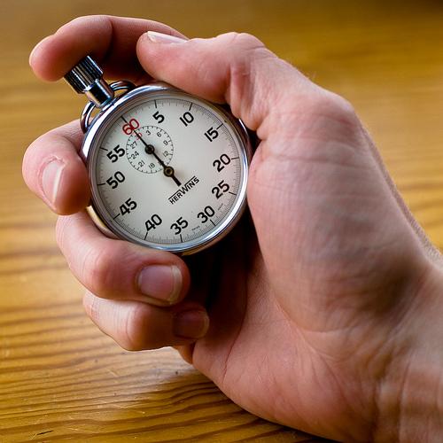Stopwatch (photo by purplemattfish)