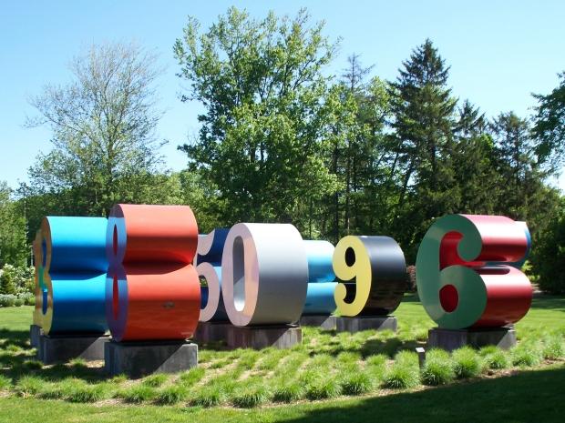 Number Garden (photo by Grafixar)
