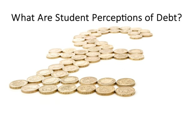 what are student perceptions of debt